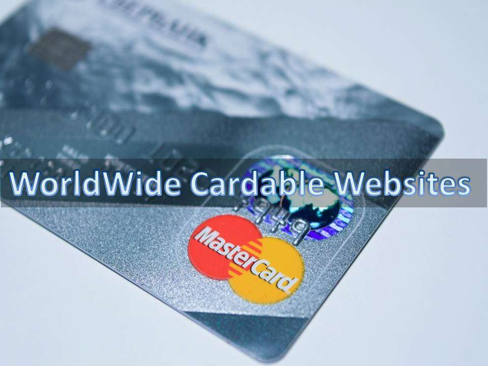 Hidden List*} WorldWide Cardable Websites With Working
