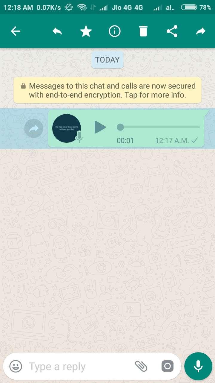 whatsapp speech to text