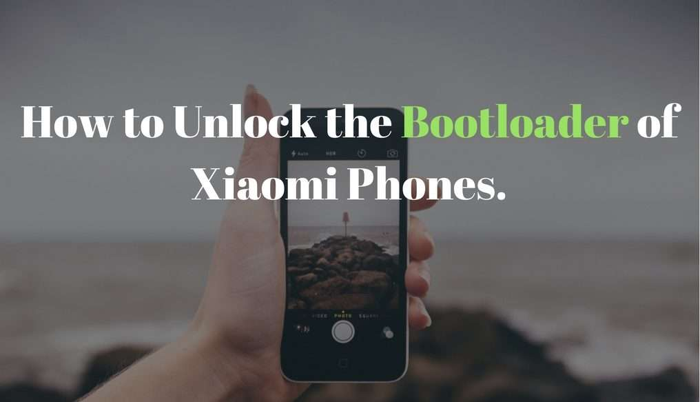 unlock the bootloader of xiaomi