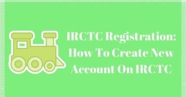 IRCTC Registration_
