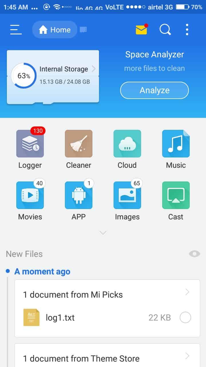 download status video whatsapp using es file explorer