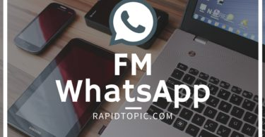FM whatsapp apk moded