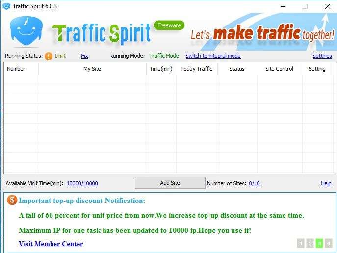 jingling traffic software